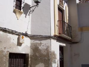 Casa blasonada de la calle Ricardo Candau