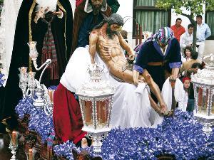 Santo entierro en Paradas (Viernes Santo)