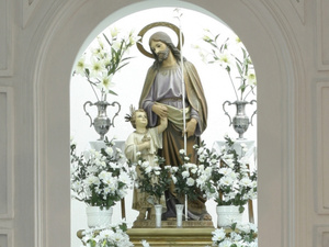 Festividad de San José en La Puebla de Cazalla