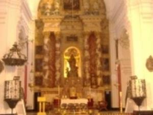 Cabeza de San Juan Bautista - Retablo Mayor