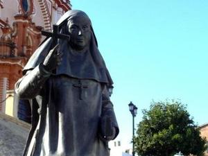 Escultura de Santa Ángela de la Cruz
