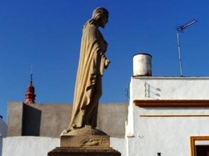 Escultura Sagrado Corazón de Jesús