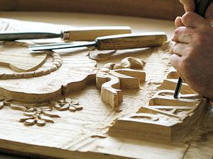 Talladores de la madera. Imagineros